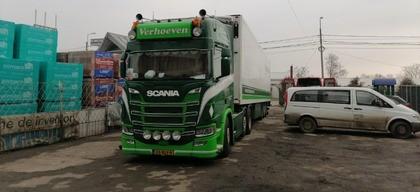 Verhoeven transport Roemenië