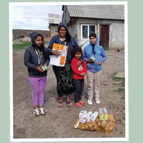 Voedselactie voor Moldavië