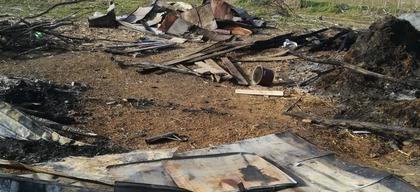 Verwoest huis Roemenië